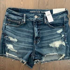 (TAG ON) brand newamerican eagle jean shorts